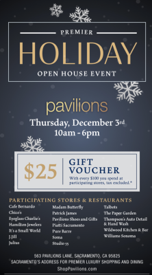 Pavilions Holiday Open House Event