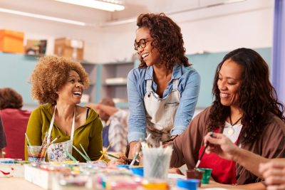 Paint and Chat An Art Night for Adults
