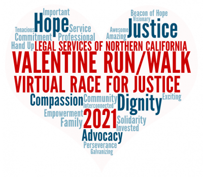 Valentine Run/Walk Race for Justice