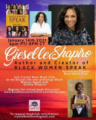 Meet The Author: Black Woman Speak Virtual Book Discussion