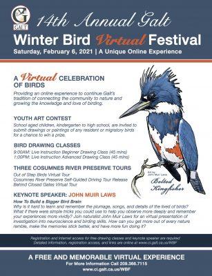 Galt Winter Bird Virtual Festival