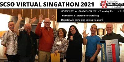 Sacramento Choral Society and Orchestra Virtual Singathon