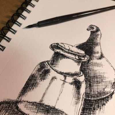 Techniques in Dip Pen and Ink