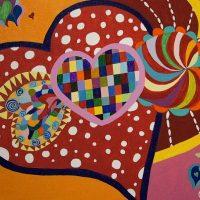 Layered Hearts Exhibit