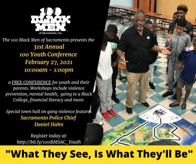 100 Black Men of Sacramento Virtual Conference Registration