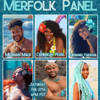 Black History Month Merfolk Panel