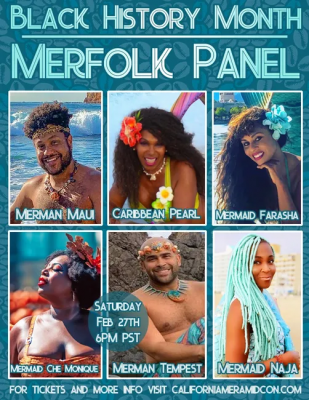 Black History Month Merfolk Panel