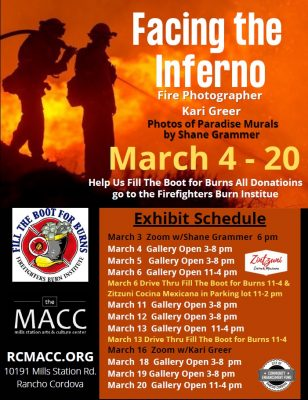 Facing the Inferno Exhibit