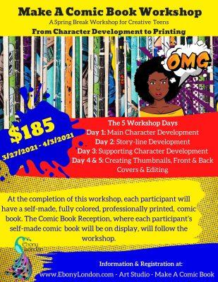 Make a Comic Book Workshop