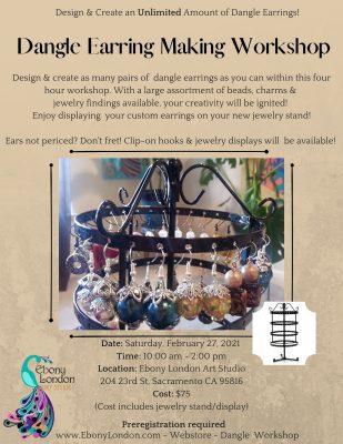 Dangle Earring Making Workshop