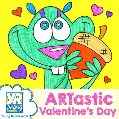 ARTastic Valentine's Day Drawing Party