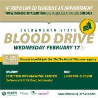 Sacramento State Blood Drive