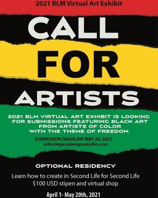 Call for Artists: Virtual Black Lives Matter Art E...