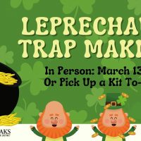 Leprechaun Trap Making (Sold Out)