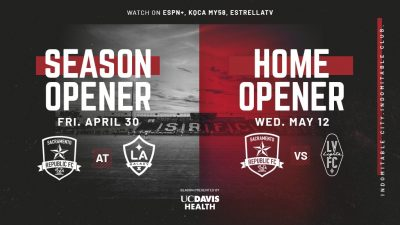 Sacramento Republic FC vs. Real Monarchs SLC Seaso...