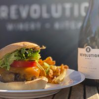 St. Paddy's Burger and Spring Wine Case Special