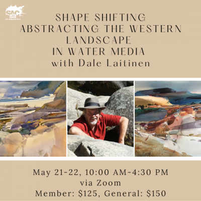 Shape Shifting: Abstracting the Western Landscape in Water Media
