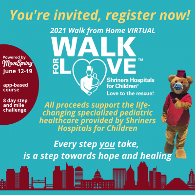 Shriners Hospitals for Children Virtual Walk for L...