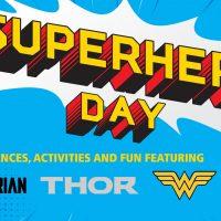 Superhero Day at the Aerospace Museum of California