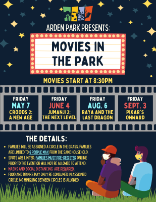 Arden Park presents Movies in the Park