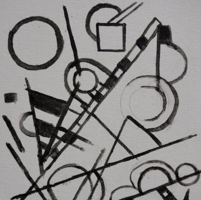 Introduction to Geometric Abstractions in Acrylic