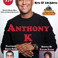 Laughs Unlimited presents Anthony K