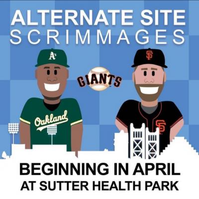 San Francisco Giants Alternate Site vs. Oakland A'...