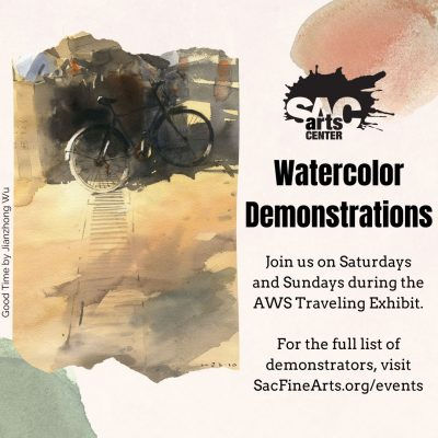 Watercolor Demonstration: Phyllis Brady