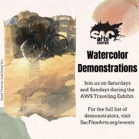 Watercolor Demonstration: Karen Keys