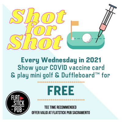 Shot for Shot Wednesdays Free Games at Flatstick P...