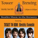Ticket To Ride at Tower Brewing