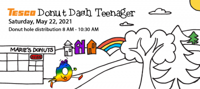 Donut Dash Teenager Race