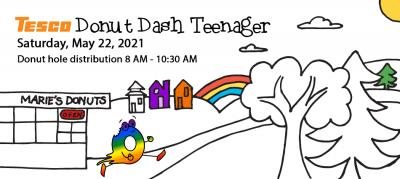 Donut Dash Teenager Race