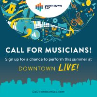 Call for Musicians: Downtown Live!