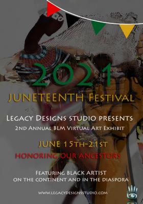 Black Lives Matter Virtual Art Exhibit 2021