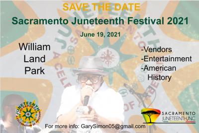 Sacramento Juneteenth Festival 2021