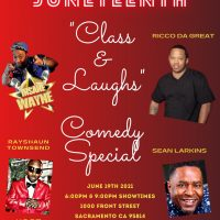 Juneteenth Class and Laughs Comedy Special