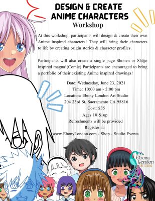 Design and Create Anime Characters Workshop