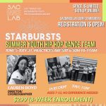 Starbursts: Summer Youth Hip Hop Dance Team