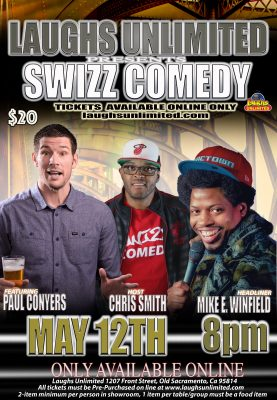 Swizz Comedy starring Mike E. Winfield
