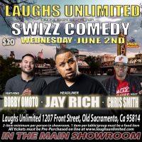 Swizz Comedy with Headliner Jay Rich