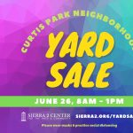 Curtis Park Yard Sale