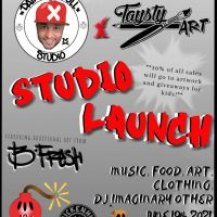 Paint In Full and TaystyArt Studio Launch