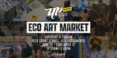 Upcycle Pop Eco Art Market