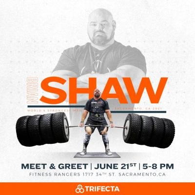 Meet and Greet Brian Shaw