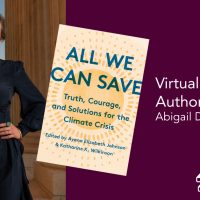 """CapRadio Reads: """"All We Can Save"""" with Abigail Dillen"""
