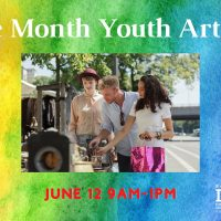 Pride Month Youth Art Show and Sale