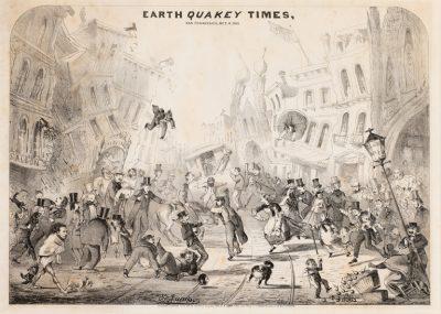 Towns, Trains, and Terrain: Early California Print...
