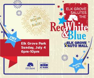 Elk Gove - Red White & Blue