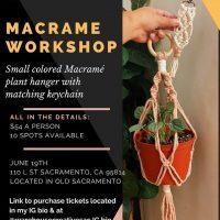 Colored Macrame Workshop
